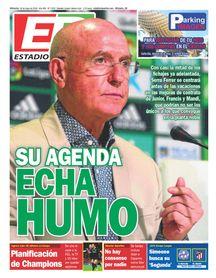 La portada de ESTADIO Deportivo