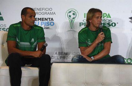 Rivaldo y Salgado ven favoritos a Brasil, España, Francia y Alemania en Rusia