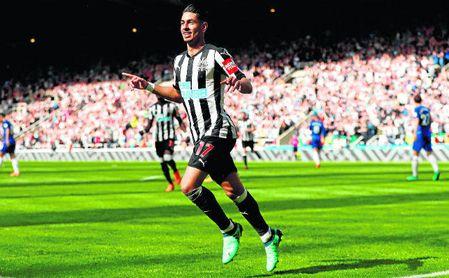 El Betis, muy atento a Ayoze, del Newcastle