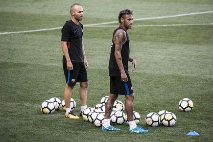 """Iniesta: """"Catalogaría de terrible que Neymar jugase en el Madrid"""""""