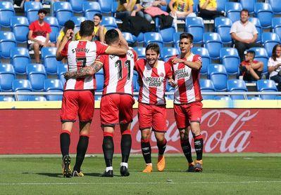 1-2. Stuani pone la guinda al Girona en la despedida de Las Palmas de Primera
