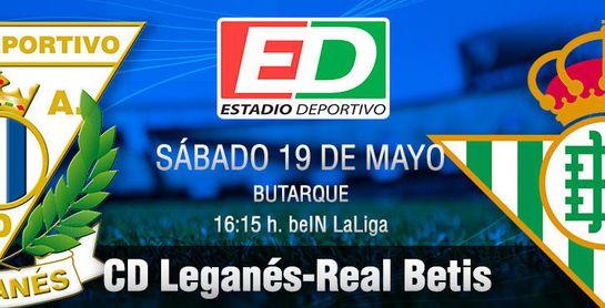 Leganés-Real Betis: Balones al Príncipe de las trece barras