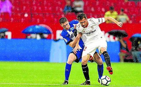 Franco Vázquez destapó ante el Alavés el tarro de su esencia.