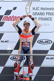 Tercera victoria consecutiva de Márquez