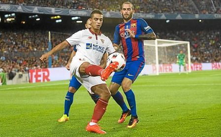 El Sevilla se niega a meter a Aleix en el posible fichaje de Lenglet por el Barça.
