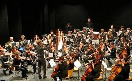 La Orquesta Filarmonía de Sevilla, Jóvenes Intérpretes, en unos de sus conciertos solidarios.