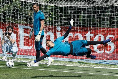 """Keylor: """"Me siento identificado con el Madrid por no darme nunca por vencido"""""""