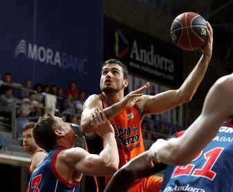 87-69. El MoraBanc derrota al Valencia en un sólido partido y acaba sexto