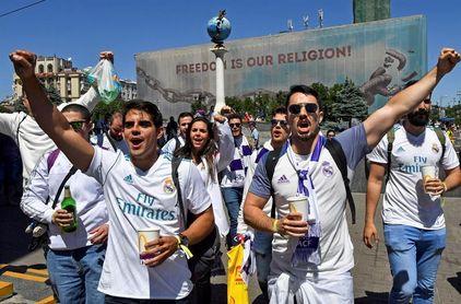 El Real Madrid llega al estadio tras la última charla de Zidane