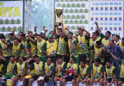 Guastatoya gana y logra su primer título frente al Xelajú