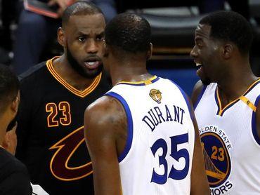 LeBron James no descarta elevar aún más su nivel y Durant le estará esperando