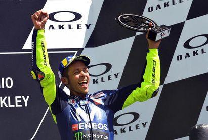 """Rossi: """"Vale la pena correr todo el año por el podio de Mugello"""""""