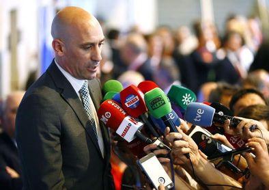 Rubiales: Es muy posible que este año la Supercopa se juegue a partido único