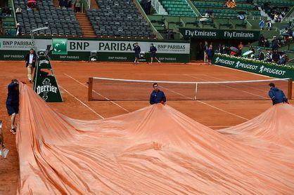 Nuevo parón por la lluvia de los cuartos Nadal-Schwartzman y Cilic-Del Potro