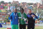 El surinamés Van Assen conquista el oro con talento y con carisma al público