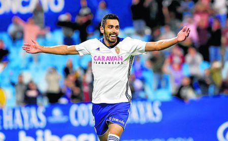 Borja Iglesias ha anotado 23 goles esta campaña con el Zaragoza.