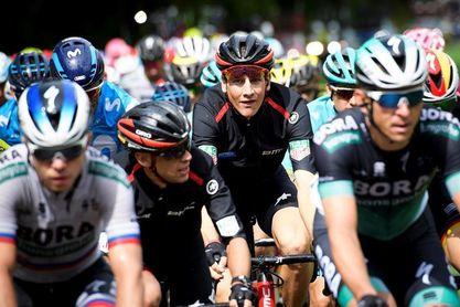 El italiano Colbrelli hace suyo un largo esprint, Küng sigue como líder