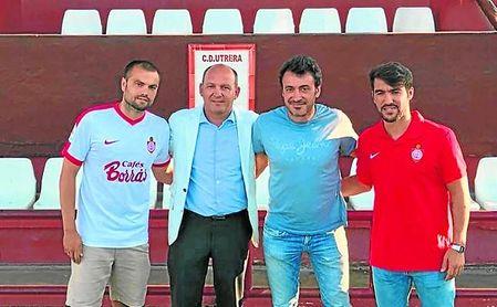 En la imagen, Barranco, Antonio Camino, Jesús Galván e Israel Bascón.