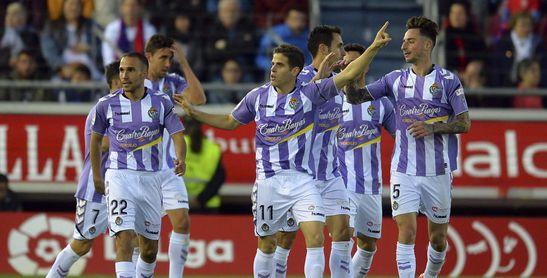 0-3. El Valladolid toca el cielo de Primera en Soria