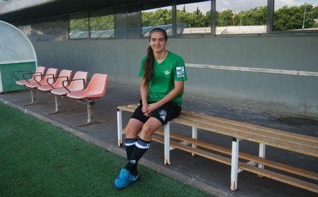 Rocío Gálvez, jugadora del Betis e internacional española.
