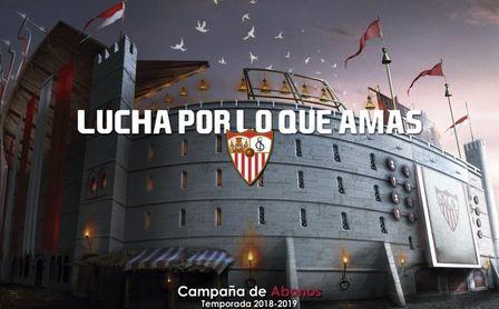 Imagen de la nueva campaña de abonados del Sevilla CF.
