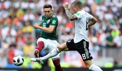 Héctor Herrera, el sueño de Serra Ferrer que el Mundial aleja