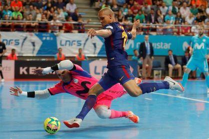 1-1. El Movistar Inter gana su quinto título consecutivo en los penaltis