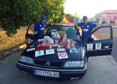 Tres mil kilómetros para refrescar a la selección con el botijo español