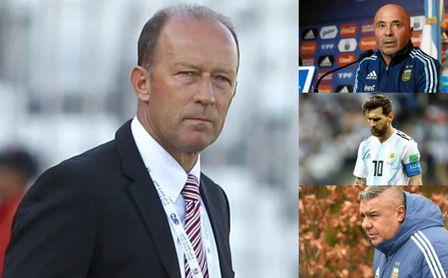 Gabi Calderón disecciona los problemas de Argentina: Sampaoli, la AFA, Messi, los clubes...
