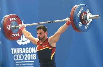Josué Brachi logra el bronce en arrancada, en la categoría de 62 kilogramos