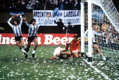 Se cumplen 40 años del triunfo de Argentina en el Mundial de 1978