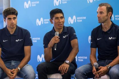 """Nairo Quintana:""""El objetivo es ganar el Tour y Froome es el gran rival"""""""