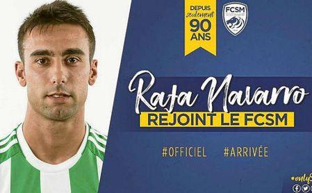 Rafa Navarro, nuevo jugador del Sochaux.