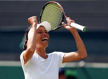 Hsieh elimina a Halep y deja Wimbledon con una sola 'top 10'