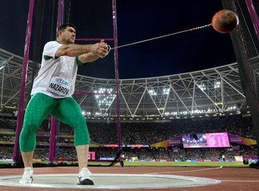 El campeón olímpico Nazarov vence en lanzamiento de martillo en el GP de Brasil de Atletismo