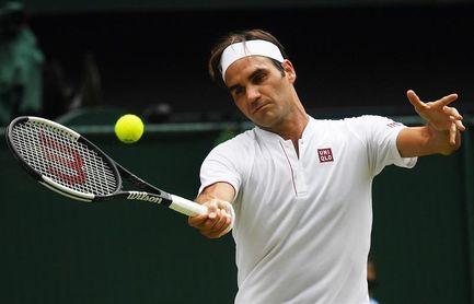 Federer vence a Mannarino y logra los cuartos por 16ª vez