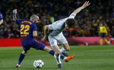 Vidal ante el Chelsea.
