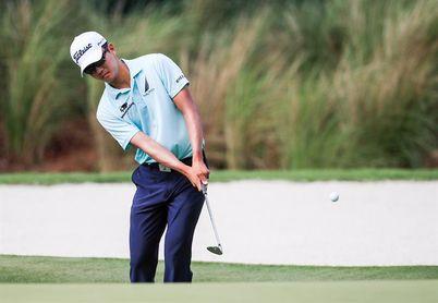 Michael Kim, líder provisional en la suspendida segunda ronda del PGA John Deere Classic