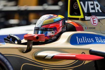 El francés Vergne, campeón a falta de una carrera