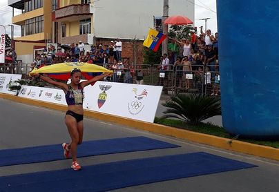 Atletas ecuatorianos regresan del Mundial U´20 de Finlandia con dos medallas