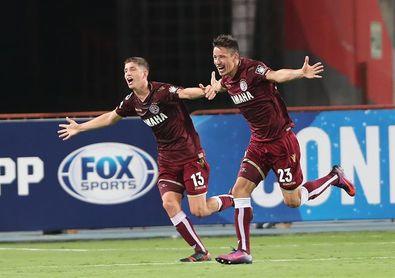 1-0. Lanús consigue una diferencia mínima ante Júnior en el partido de ida