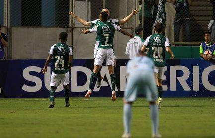 4-0. El Deportivo Cali minimiza el riesgo de disputar la clasificación en La Paz