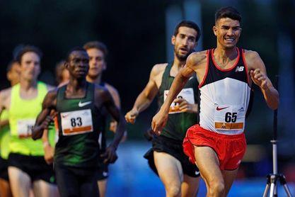 Mechaal logra en Dublín la mínima europea en 5.000 con 13:29.94