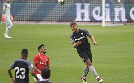 Carriço, en el partido ante el Benfica.