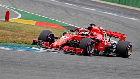 Vettel saldrá desde la ´pole´; Sainz, octavo