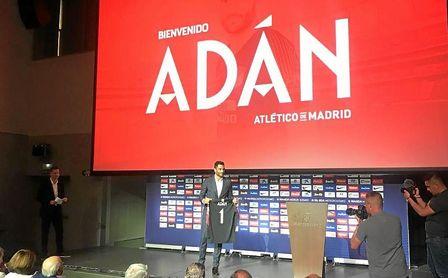 Adán, en su presentación.