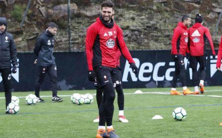 Sergi Gómez, jugador del Celta.
