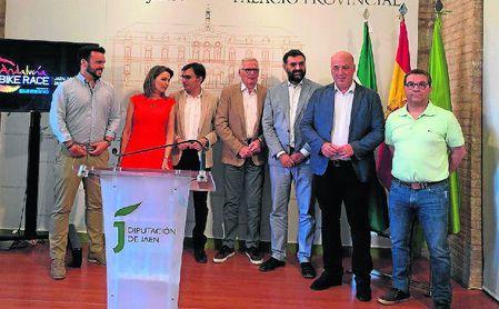 Acto oficial en Jaén.