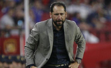 Pablo Machín, conductor de la nave del Sevilla FC en Europa.