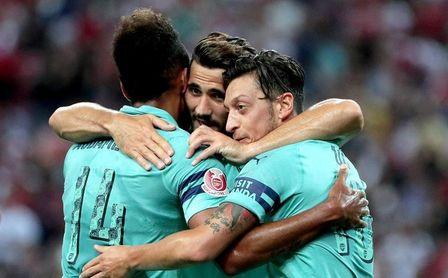 Unai Emery, con el Arsenal, da un repaso a su ex equipo, el PSG